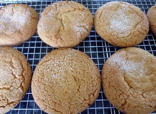 Sugar-crusted Ginger Cookies | Rachel's Kitchen NZ | Pinterest
