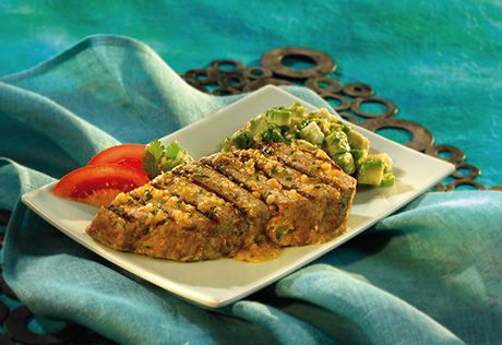 Campbell's Grilled Tomatillo Tuna Steaks Recipe