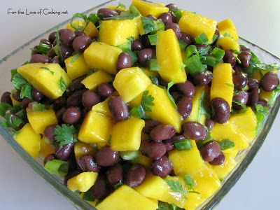 For the Love of Cooking--Mango and Black Bean Salsa