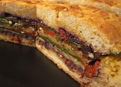 Muffaletta Sandwich Vegan | Vegan and Vegetarian ideas | Pinterest
