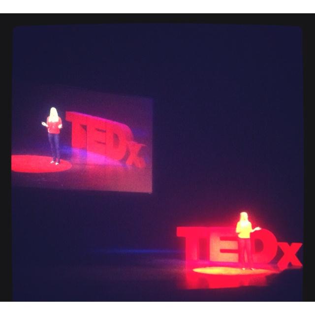 Speaking at TEDx Was effing cool! Katie Brauer #TEDXafc San Diego