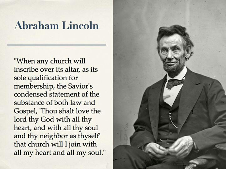 Good Advice Abe Lincoln Accomplishing The Mission Of