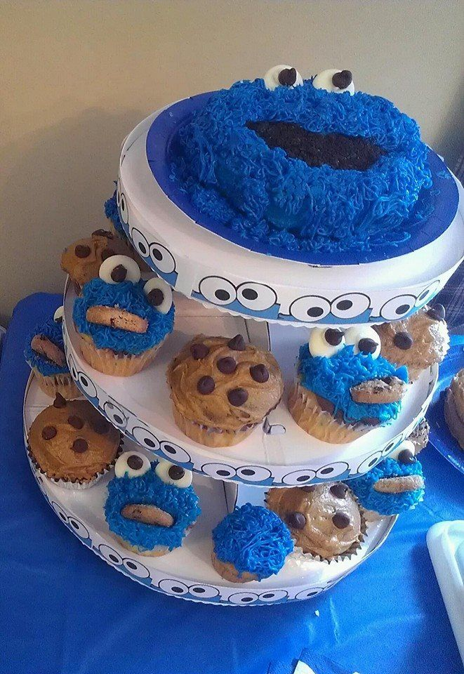 Pin by Mandy Murphy on 1st Birthday - Cookie Monster ...
