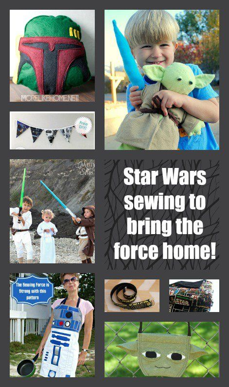 7 Free Star Wars Sewing Patterns that Use the Force - satukis.info