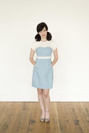 Colette Macaron Dress pattern. lots of cute patterns and tutorials on this site.