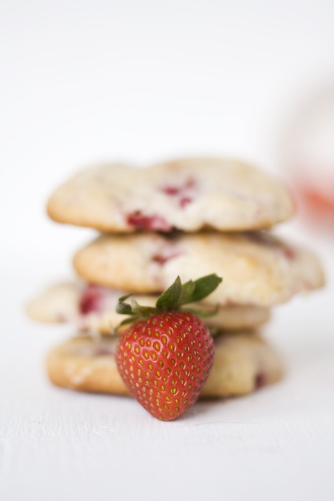 Always With Butter: Strawberry Shortcake Cookies - Good, also scone ...