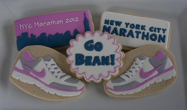 marathon cookies | Cookies - Sports | Pinterest