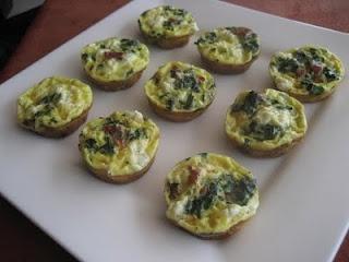 Frittata Bites | Recipes | Pinterest