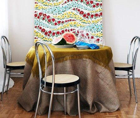 Colourful Dining Room   photo Kim Jeffery  design Michael Penney   House & Home