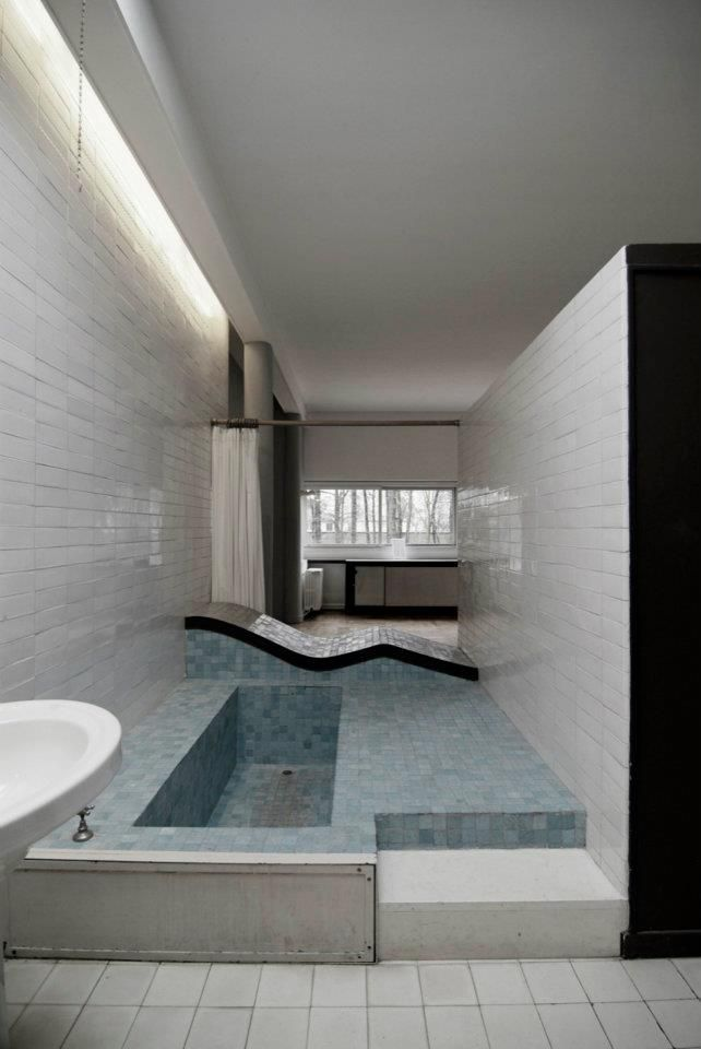 le corbusier ville savoy interni pinterest. Black Bedroom Furniture Sets. Home Design Ideas