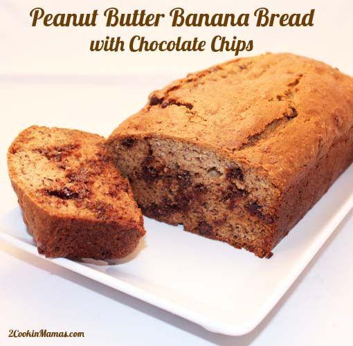 Peanut Butter Banana Breakfast Bread Pudding Recipe — Dishmaps