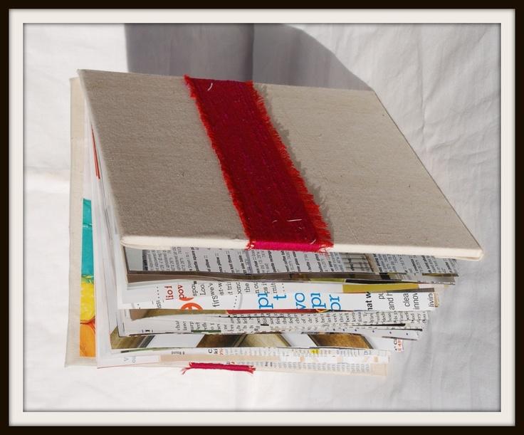book binding attempt three - portfolio mock up