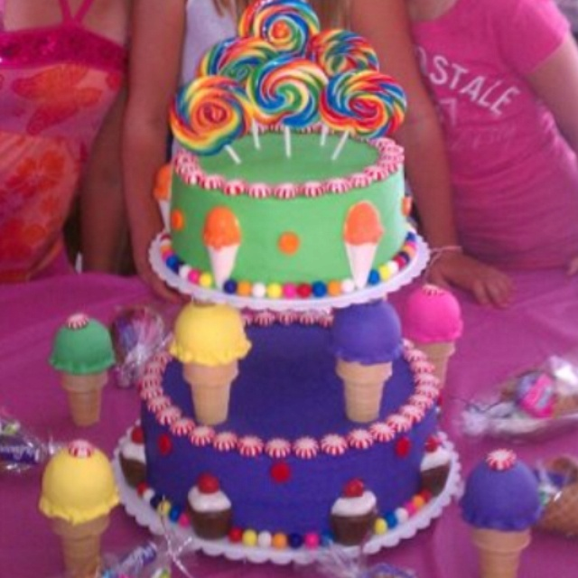 Birthday Cake Images For Aunt : Addisons birthday cake!! By: Aunt Sarah Cakes ! Pinterest