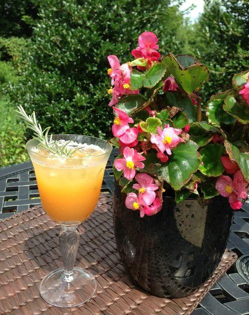 ... Porch Sipper: Peach Rosemary Lemonade — Zest & Zeal #lemonade