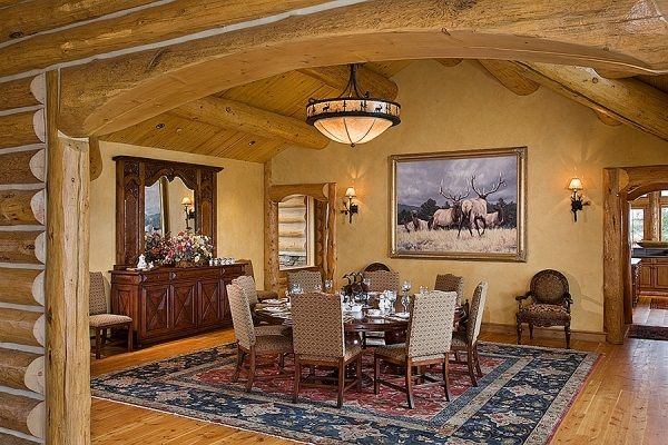 Fayette ranch log cabin homes and parts of homes i love pinterest