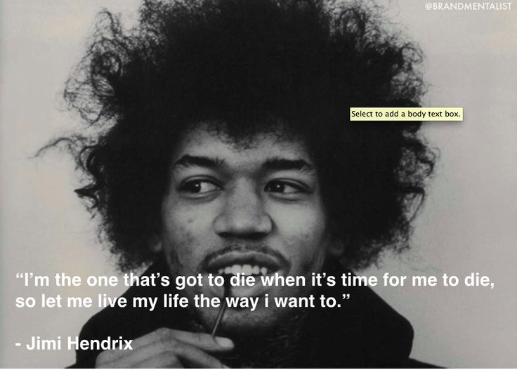 Download Quotes Jimi Hendrix