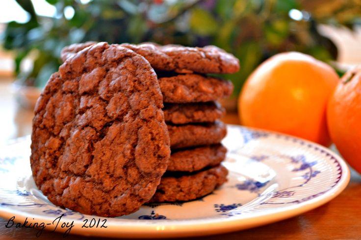 Chocolate orange cookies | Desserts | Pinterest