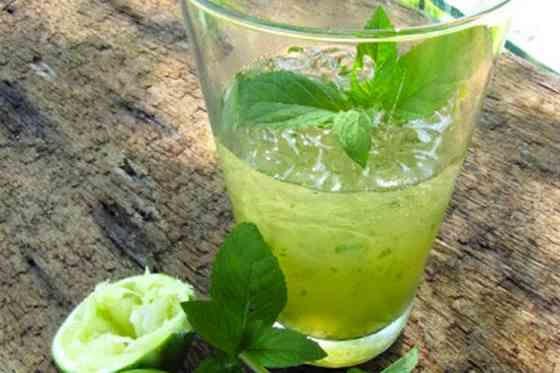 Apple-Lime-Mint Spritzer Recipe | Recipes | Pinterest