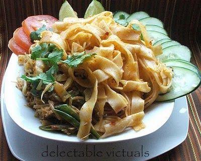 Drunken noodles | Vegan Shit | Pinterest