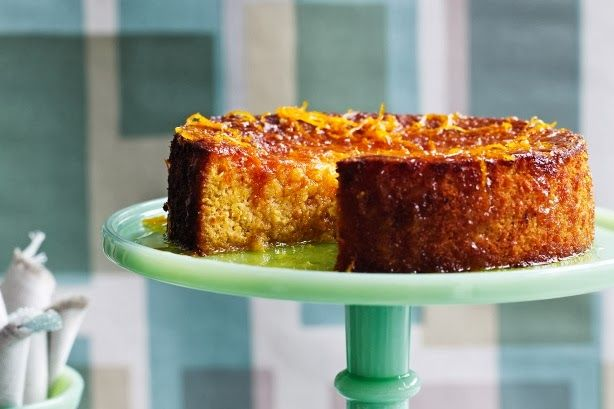 Gluten-free Persian orange and almond cake recipe