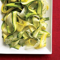 zucchini amp yellow squash ribbons with daikon oregano amp basil by ...