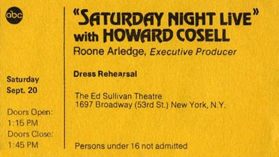 Saturday Night Live with Howard Cosell
