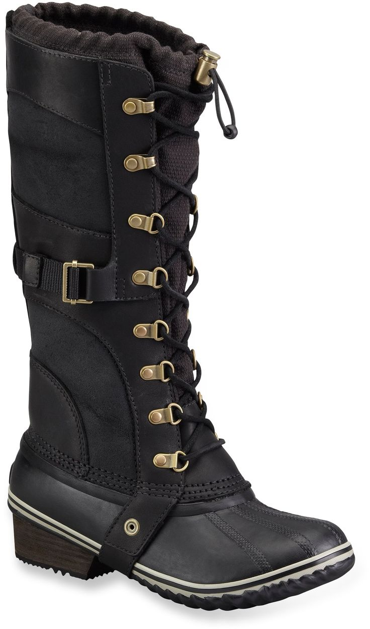 Cool Sorel Conquest Carly Short Pac Boots  Waterproof Insulated For