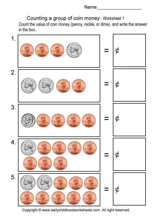 money-2-1.jpg (595u00d7842) : home-school (worksheets) : Pinterest