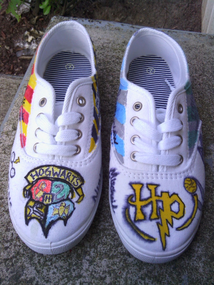 Harry Potter shoes made by me