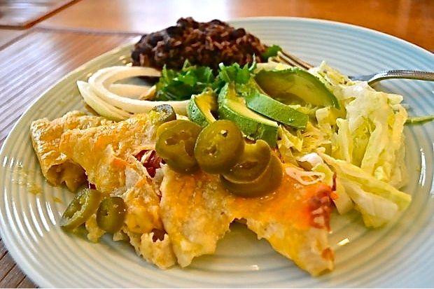 Chicken Enchiladas Cafe Tacuba-Style Recipes — Dishmaps