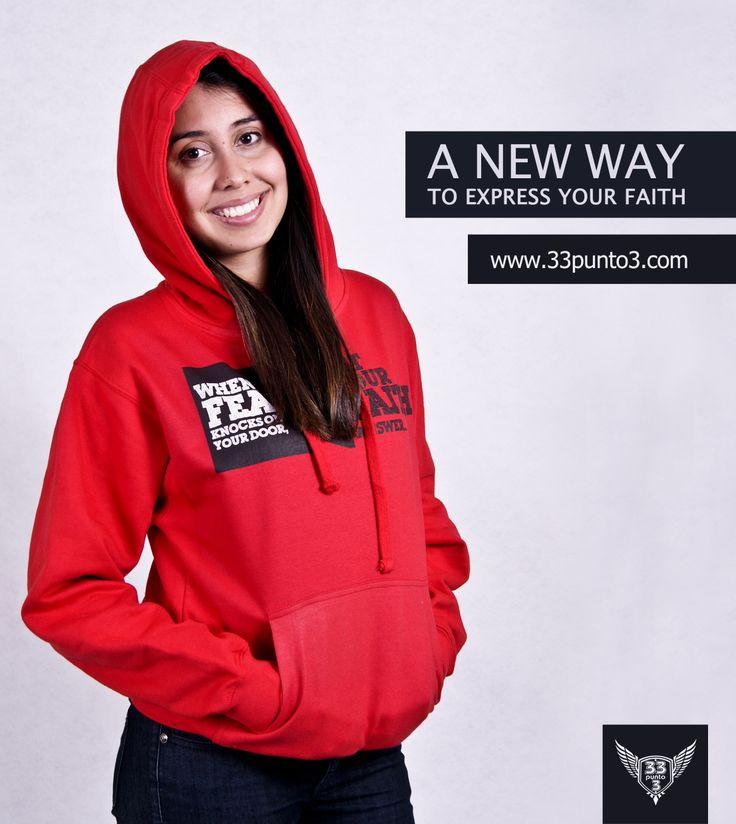Faith at the door Hoody http://www.33punto3.com/en/girls/hoodies