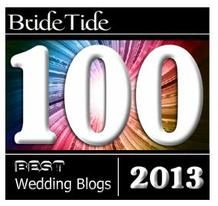 top 100 wedding blogs 2013