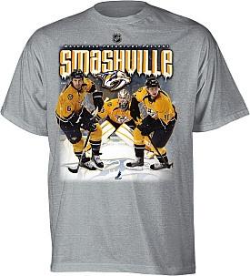 Predators smashville shirt puck yeah pinterest
