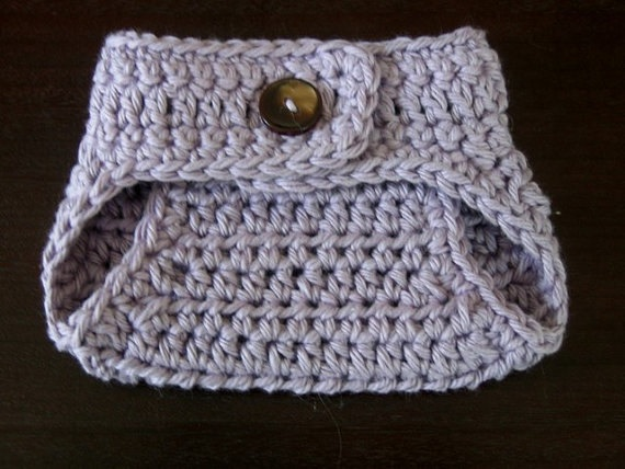 Crochet PATTERN - Diaper Cover Pattern - Button Up Soaker - Crochet ...