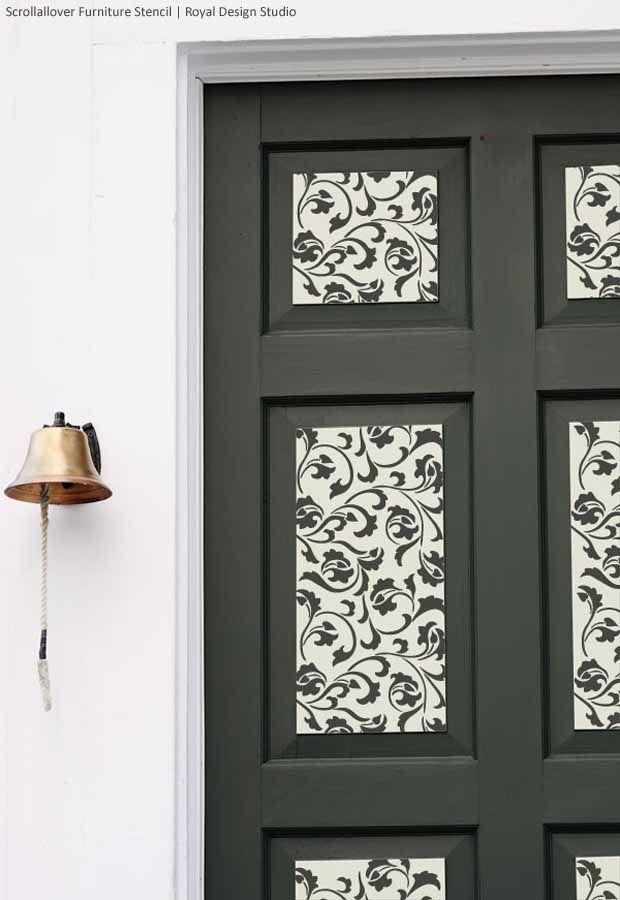 Pin by royal design studio stencils on a door pinterest for 5th door design studio