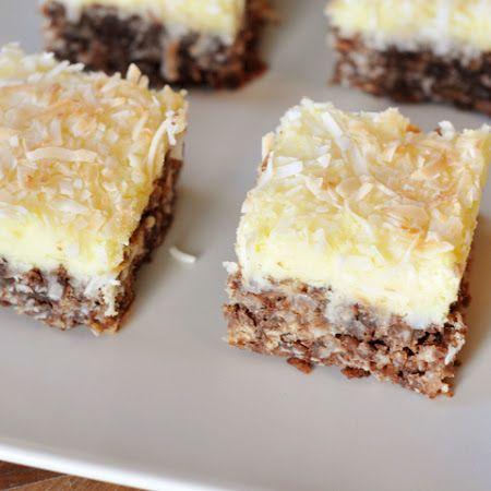 Chocolate Haystack Cream Cheese Squares | Favorite Recipes | Pinterest