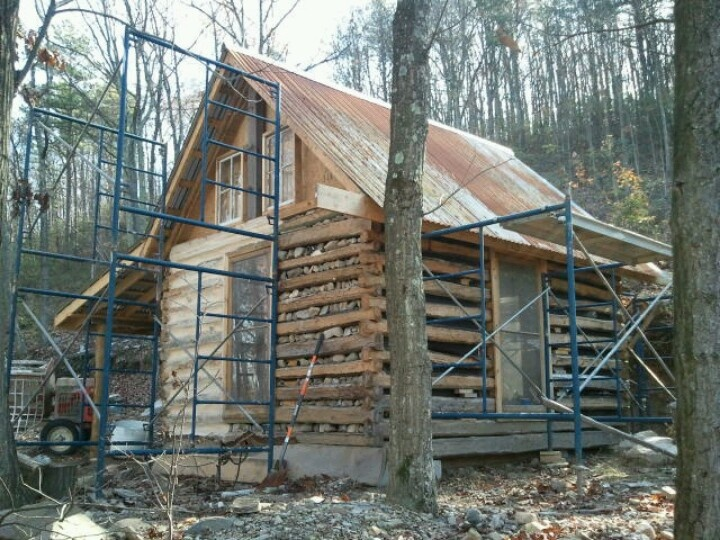 Some chinking log cabin pinterest for Chinking log cabin