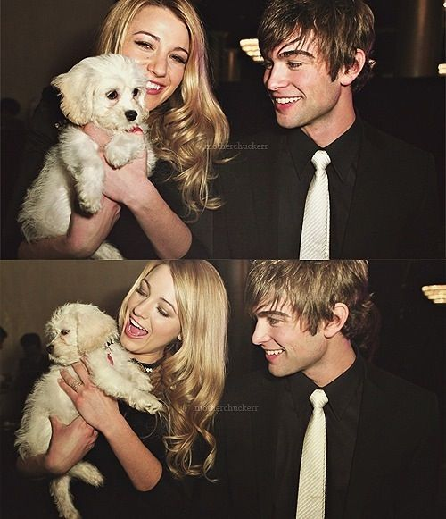 Blake Lively and Chace Crawford | the rich&famous | Pinterest
