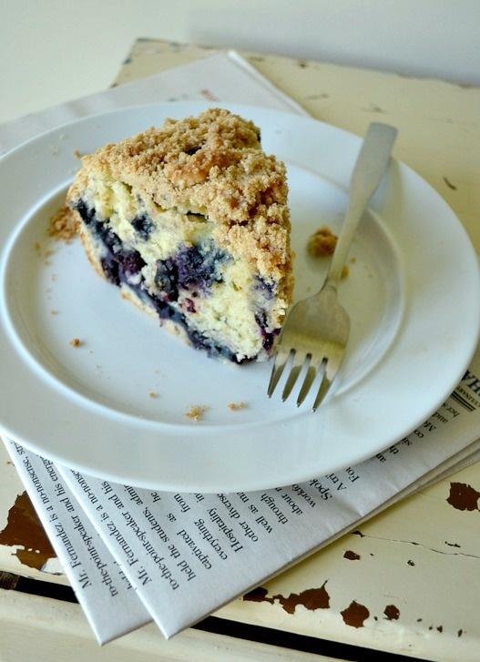 Blueberry Lemon Coffee Cake. | tea treats | Pinterest