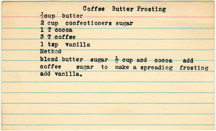 Coffee Butter Frosting | icing on the cake | Pinterest