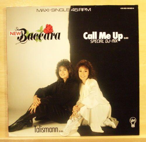 New Baccara Call Me Up Special DJ Mix