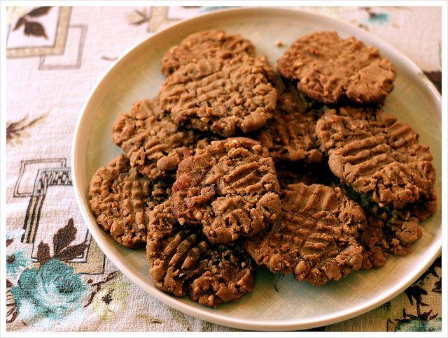 Peanut Butter Bacon Cookies | The Baking Bird