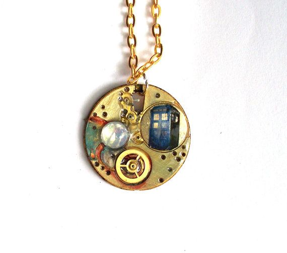 doctor who necklace quot quot