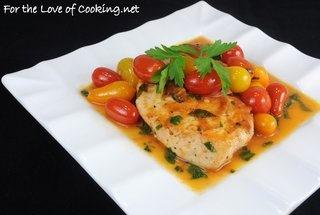 Chicken Breasts with Tomato Herb Pan Sauce — Recipe from For the ...