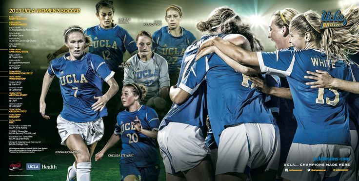 2013 UCLA Women s Soccer PosterUcla Soccer 2013