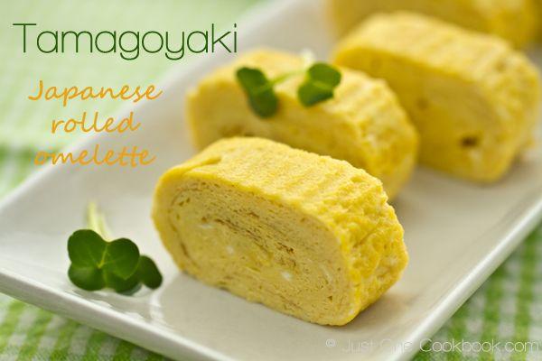 Japanese Rolled Omelette (Tamagoyaki) | Easy Japanese Recipes at ...