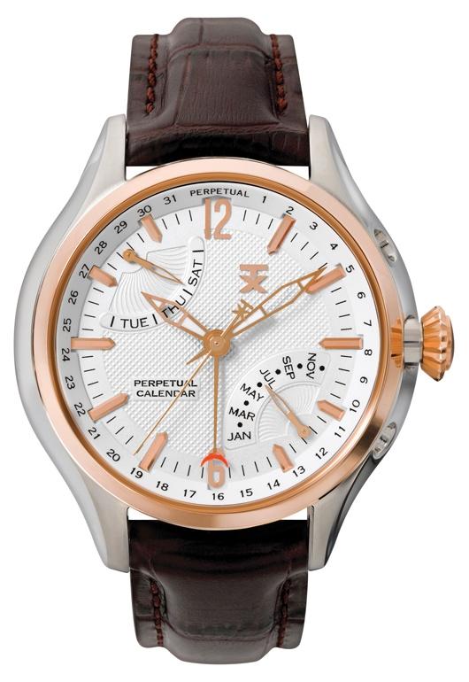 Timex TX Perpetual Calendar mens watch 3640 T3C321