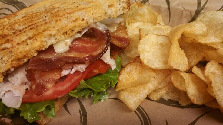 Ultimate BLT sandwich   Cafe   Pinterest