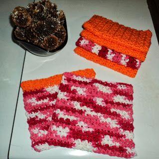 EASY DISHCLOTH Crochet Pattern - Free Crochet Pattern