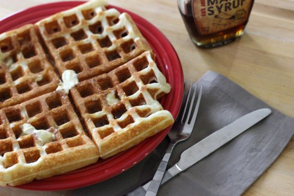 Classic Waffles | A Nerd Cooks | A Nerd Cooks: Recipes from my person ...